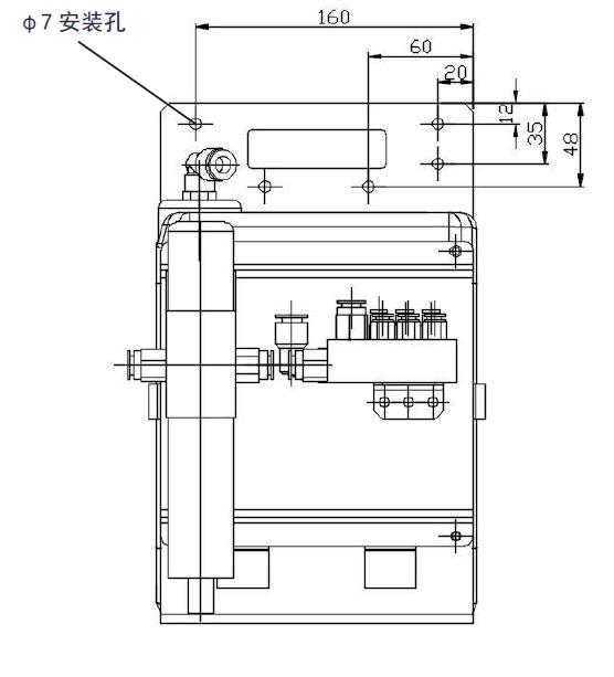 VACB微量润滑系统安装